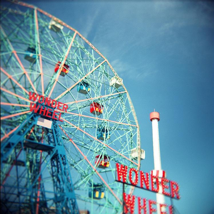 Wonder Wheel, Coney Island, Brooklyn, 2007