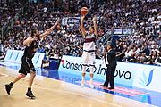 Montanaro<br /> Kontatto Fortitudo Bologna vs Segafredo Virtus Bologna<br /> Campionato Basket LNP 2016/2017<br /> Bologna 14/04/2017<br /> Foto Ciamillo-Castoria/A. Gilardi