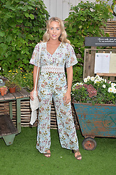 LYDIA BRIGHT at a vintage fashion pop-up evening hosted by Dawn O'Porter at The Gardening Society, John Lewis, Oxford Street on 27th July 2016.