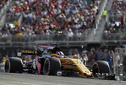 October 21, 2017 - Austin, United States of America - Motorsports: FIA Formula One World Championship 2017, Grand Prix of United States, ..#27 Nico Hulkenberg (GER, Renault Sport F1 Team) (Credit Image: © Hoch Zwei via ZUMA Wire)