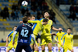 Darko Zec #5 of NK Domzale during football match between NK Domzale and ND Gorica in 24th Round of Prva liga Telekom Slovenije 2015/16, on March 6, 2016 in Sports park Domzale, Domzale, Slovenia. Photo by Urban Urbanc / Sportida