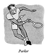 Courts of the Evening ; Professional Tennis at Wembley ; <br />