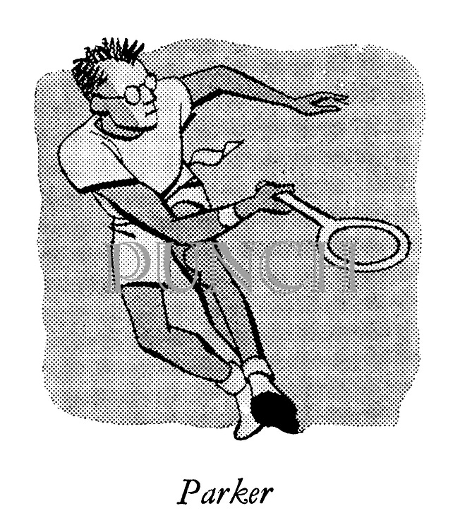 Courts of the Evening ; Professional Tennis at Wembley ; <br />  Frank Parker