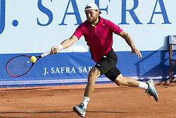 July 26, 2017 - Gstaad, Schweiz - 26.07.2016, Gstaad, Tennis, Swiss Open Gstaad 2017, Radu Albot (MDA) (Credit Image: © Pascal Muller/EQ Images via ZUMA Press)