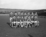 22/02/1970<br /> 02/22/1970<br /> 22 February 1970<br /> Railway Cup Hurling Final: Ulster v Munster at Croke Park, Dublin. <br /> The Munster team.