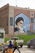 Iran , Tehran. Imam Khomeyni mausoleum in Beechte Zara cemetery/ Teheran, le mausolee de l'imam Khomeyni dans le cimetiere de Beechte Zara