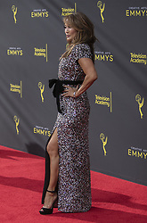 September 14, 2019, Los Angeles, California, United States of America: Carrie Ann Inaba at the red carpet of the 2019 Creative Arts Emmy Awards on Saturday September 14, 2019 at the Microsoft Theater in Los Angeles, California. JAVIER ROJAS/PI (Credit Image: © Prensa Internacional via ZUMA Wire)