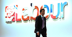 © Licensed to London News Pictures. 28/09/2011. LONDON, UK. Ed Miliband at The Labour Party Conference in Liverpool today (28/09/11). Photo credit:  Stephen Simpson/LNP