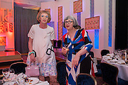 GRAYSON PERRY; PHILLIPA PERRY, The Sky South Bank Arts Awards, Dorchester Hotel , Park Lane, London. 1 May 2012.