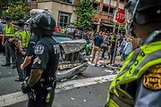 """In Charlottesville, Virginia, on Saturday, August 12, 2017 a where a white-nationalist """"Unite the Right"""" rally starring several of the alt-right's leading lights turned violent. At the end of the day, three people had died, and at least 19 more were injured. Photos by Justin Ide"""