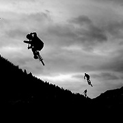 """Red Bull 'Roast it"""" BMX competition, Queenstown."""