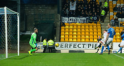 Ross County's Craig Curran scoring their third goal. St Johnstone 2 v 4 Ross County. SPFL Ladbrokes Premiership game played 19/11/2016 at St Johnstone's home ground, McDiarmid Park.