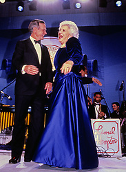United States President George H.W. Bush and first lady Barbara Bush attend an Inaugural Ball on Inauguration Day, January 20, 1989 in Washington, DC. Photo by Pam Price / Pool via CNP /ABACAPRESS.COM