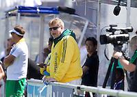 THE HAGUE - South Africa (RSA) vs England. RSA coach Giles Bonnet. COPYRIGHT KOEN SUYK
