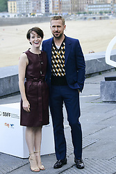 September 24, 2018 - San Sebastian, Spain - Claire Foy, Ryan Gosling attended 'First Man' Photocall during the 66th San Sebastian International Film Festival at  Kursaal Palace on September 24, 2018 in San Sebastian, Spain (Credit Image: © Jack Abuin/ZUMA Wire)