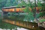 Perrine's Covered Bridge, over the Walkill RIver, Rifton, New York