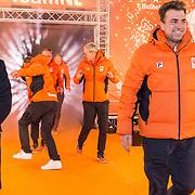 NLD/Amsterdam/20180226 - Thuiskomst TeamNL, Jeroen Bijl