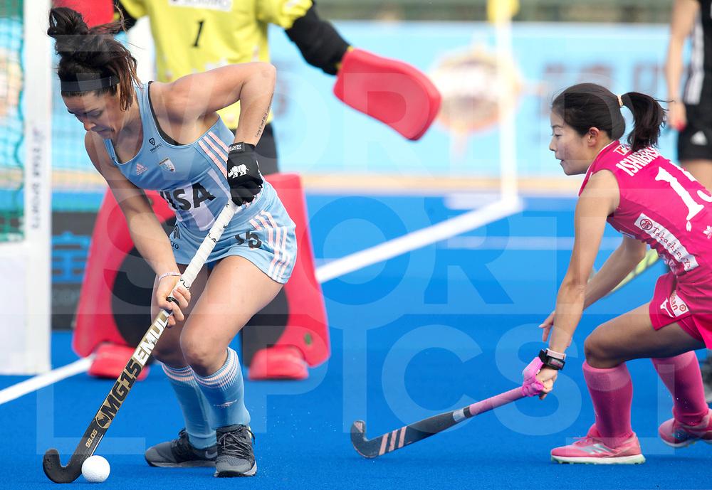 CHANGZHOU WUJIN Wanglibao Hockey Champions Trophy<br /> Argentina v Japan<br /> Foto:  Maria-Jose Granatto <br /> WORLDSPORTPICS COPYRIGHT RODRIGO JARAMILLO