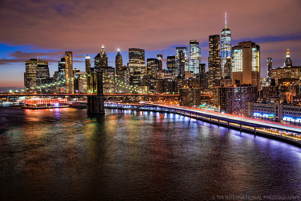Downtown New York & Brooklyn Bridge