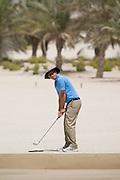 Abu Dhabi, United Arab Emirates (UAE). March 20th 2009.<br /> Al Ghazal Golf Club.<br /> 36th Abu Dhabi Men's Open Championship.<br /> Philip Henderson