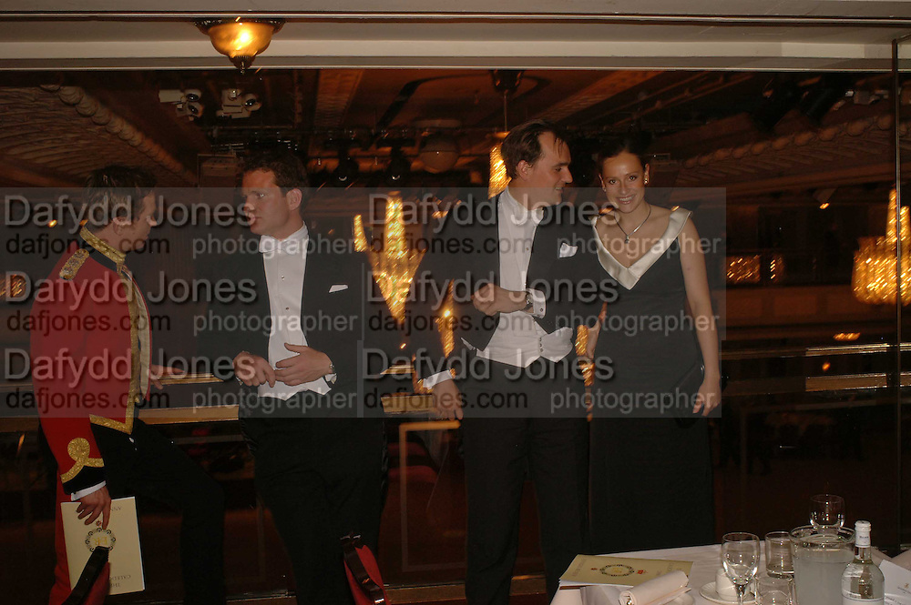 WILLIAM SNOOK, DOUGLAS OPPENHEIM, NICHOLAS FRANKOPAN AND NATASHA OPPENHEIM. The Royal Caledonian charity Ball 2006.Grosvenor House. London. 5 May 2006. . ONE TIME USE ONLY - DO NOT ARCHIVE  © Copyright Photograph by Dafydd Jones 66 Stockwell Park Rd. London SW9 0DA Tel 020 7733 0108 www.dafjones.com