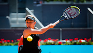 Simona Halep of Romania in action during the third round of the Mutua Madrid Open 2021, Masters 1000 tennis tournament on May 4, 2021 at La Caja Magica in Madrid, Spain - Photo Rob Prange / Spain ProSportsImages / DPPI / ProSportsImages / DPPI