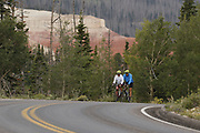 SHOT 8/6/17 7:06:59 AM - UOT Tourism photos of Brian Head and Cedar City, Utah. Images include riding Brian Head Resort in Brian Head, Utah; exploring Cedar Breaks National Monument, hiking Kolob Canyons in Zion National Park and mountain biking the Lava Flow Trail in Cedar City, Utah. (Photo by Marc Piscotty / © 2017)