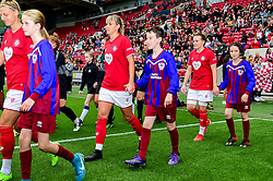 Match mascots - Mandatory by-line: Ryan Hiscott/JMP - 07/09/2019 - FOOTBALL - Ashton Gate - Bristol, England - Bristol City Women v Brighton and Hove Albion Women - FA Women's Super League