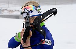 Tadeja Brankovic Likozar at training session of Slovenian biathlon team before new season 2009/2010,  on November 16, 2009, in Pokljuka, Slovenia.   (Photo by Vid Ponikvar / Sportida)