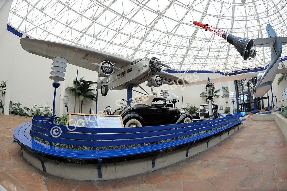 """""""In 1986 the Museum became the first aero-themed museum to be accredited by the American Association of Museums, and it is now a Smithsonian affiliate. <br /> <br /> The California Legislature voted to declare the Museum """"California's official Air and Space Museum and Education Center. <br /> <br /> Because of San Diego's contributions to aviation and aerospace history and technology, it is only fitting that the Museum is now recognized as one of the country's premier aerospace museums.""""<br /> <br /> In 2006, 2006 the Museum's name became San Diego Air & Space Museum.<br /> <br /> info taken from the official website."""