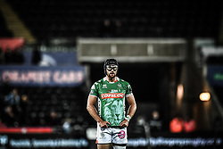 Ian McKinley of Benetton Treviso                                                                                                                                                                                                                                                                                                                                                                                                                                                                                                                                                                                                                          <br /> <br /> Photographer Craig Thomas/Replay Images<br /> <br /> Guinness PRO14 Round 4 - Ospreys v Benetton Treviso - Saturday 22nd September 2018 - Liberty Stadium - Swansea<br /> <br /> World Copyright © Replay Images . All rights reserved. info@replayimages.co.uk - http://replayimages.co.uk
