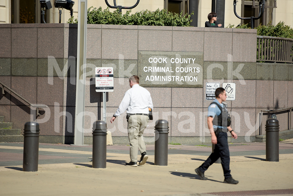 26th and California Cook County Criminal Courts building in Chicago on Wednesday, Aug. 19, 2020.  Photo by Mark Black