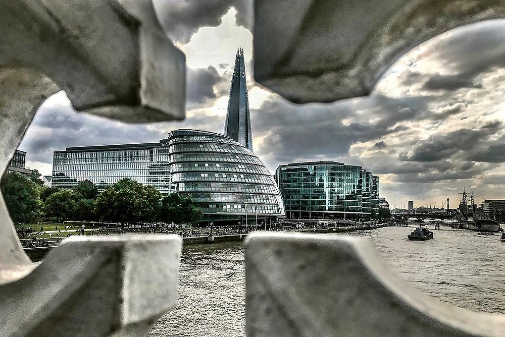 View of London from Tower Bridge<br /> <br /> Foto Antonietta Baldassarre