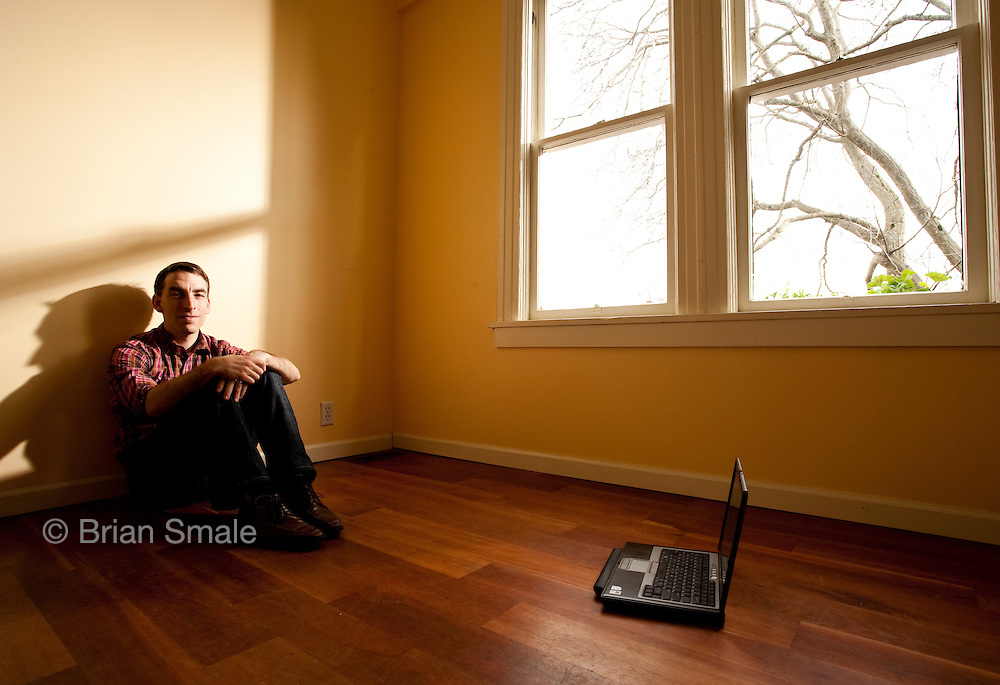 Glenn Kelman, founder of Redfin Realty.  Photographed in Seattle, WA for Forbes Magazine.