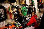 Obama Inauguration - Monday activities around the Capitol on Martin Luther King Jr. Day. Obama merchandise store. Selling Tshirts.