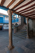One of the many patios of historic center