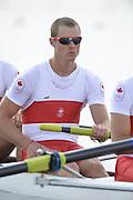 Eton Dorney, Windsor, Great Britain,..2012 London Olympic Regatta, Dorney Lake. Eton Rowing Centre, Berkshire[ Rowing]...Description;  Heat of the  CAN M4-.Michael WILKINSON (b) , Anthony JACOB (2) , Will DEAN (3) , Derek O'FARRELL (s). Dorney Lake. 10:40:11  Monday  30/07/2012.  [Mandatory Credit: Peter Spurrier/Intersport Images].Dorney Lake, Eton, Great Britain...Venue, Rowing, 2012 London Olympic Regatta...