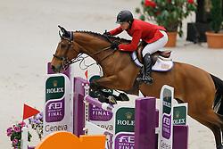 Hough Lauren (USA) - Quick Study<br /> Rolex FEI World Cup Final - Geneve 2010<br /> © Dirk Caremans