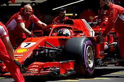 June 22, 2018 - Le Castellet, France - Motorsports: FIA Formula One World Championship 2018, Grand Prix of France, .#7 Kimi Raikkonen (FIN, Scuderia Ferrari) (Credit Image: © Hoch Zwei via ZUMA Wire)