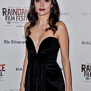 Raha Rahbari actress attend Blackbird - World Premiere with Michael Flatley at May Fair Hotel, London, UK. 28th September 2018.