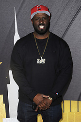 January 25, 2018 - New York, NY, USA - January 25, 2018  New York City..Funkmaster Flex attending Delta Air Lines celebration of 2018 Grammy Weekend at The Bowery Hotel on January 25, 2018 in New York City. (Credit Image: © Kristin Callahan/Ace Pictures via ZUMA Press)
