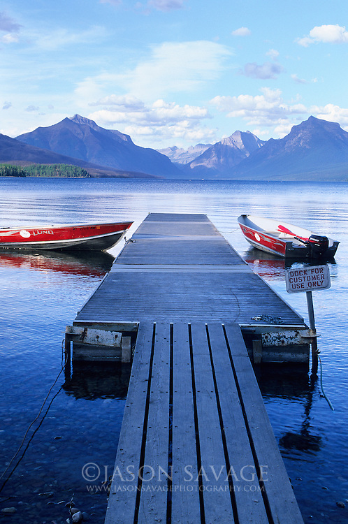 Lake Mcdonald Glacier National Park USA