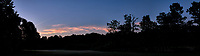 Early Dawn Panorama. Composite of three image taken with a Leica CL camera and 18 mm f/2.8 lens