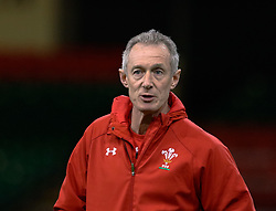 /Attack Coach Rob Howley of Wales<br /> <br /> Photographer Simon King/Replay Images<br /> <br /> Six Nations Round 5 - Wales v Ireland Captains Run - Saturday 15th March 2019 - Principality Stadium - Cardiff<br /> <br /> World Copyright © Replay Images . All rights reserved. info@replayimages.co.uk - http://replayimages.co.uk