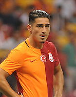 Friendly football match between Galatasaray (TUR) and Inter (ITA) at Turk Telekom Arena Stadium in Istanbul on August 02, 2015.<br /> Final Score: Galatasaray 1 - Inter 0<br /> Pictured: Koray Gunter of Galatasaray.