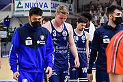 Kaspar Treier<br /> Banco di Sardegna Dinamo Sassari - Segafredo Virtus Bologna<br /> Legabasket LBA Serie A UnipolSai 2020-2021<br /> Sassari, 03/04/2021<br /> Foto L.Canu / Ciamillo-Castoria