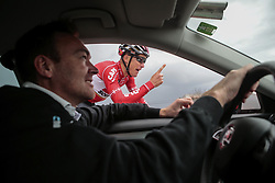 December 15, 2017 - Manacor, Espagne - MANACOR, SPAIN - DECEMBER 15 : BAK Lars Ytting (DEN) Rider of Team Lotto - Soudal and AERTS Mario (BEL) Sports Director of Team Lotto - Soudal pictured during the training camp of the Lotto Soudal cycling team on December 15, 2017 in Manacor, Spain, 15/12/17 (Credit Image: © Panoramic via ZUMA Press)