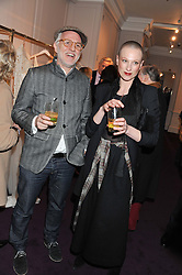 MOMO and CLEO IRVING at a party to celebrate thelaunch of Alice Temperley's flagship store Temperley, Bruton Street, London on 6th December 2012.