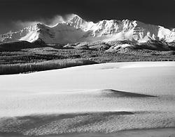 Wislon Peak,winter, Telluride, Colorado