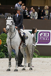 Diniz Luciana (POR) - Winningmood)<br /> Rolex FEI World Cup Final - Geneve 2010<br /> © Dirk Caremans